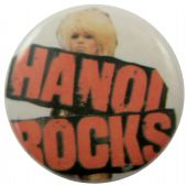 Hanoi Rocks - 'Logo Michael' Button Badge